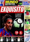 Portada Mundo Deportivo del 4 de Diciembre de 2009