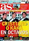 Portada diario AS del 5 de Diciembre de 2009