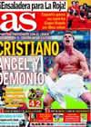 Portada diario AS del 6 de Diciembre de 2009