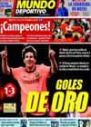 Portada Mundo Deportivo del 6 de Diciembre de 2009