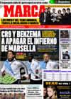 Portada diario Marca del 8 de Diciembre de 2009