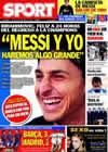 Portada diario Sport del 8 de Diciembre de 2009