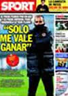 Portada diario Sport del 9 de Diciembre de 2009