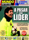 Portada Mundo Deportivo del 9 de Diciembre de 2009