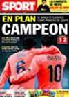 Portada diario Sport del 10 de Diciembre de 2009