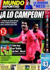 Portada Mundo Deportivo del 10 de Diciembre de 2009