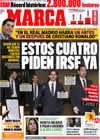 Portada diario Marca del 11 de Diciembre de 2009