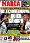 Portada diario Marca del 12 de Diciembre de 2009