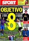 Portada diario Sport del 12 de Diciembre de 2009