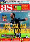 Portada diario AS del 13 de Diciembre de 2009