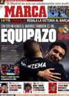 Portada diario Marca del 13 de Diciembre de 2009
