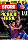 Portada diario Sport del 13 de Diciembre de 2009