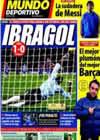 Portada Mundo Deportivo del 13 de Diciembre de 2009