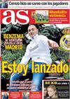 Portada diario AS del 15 de Diciembre de 2009