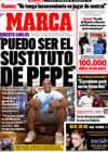 Portada diario Marca del 15 de Diciembre de 2009