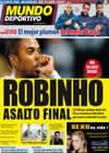 Portada Mundo Deportivo del 15 de Diciembre de 2009