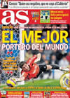 Portada diario AS del 16 de Diciembre de 2009