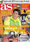 Portada diario AS del 17 de Diciembre de 2009