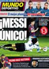 Portada Mundo Deportivo del 17 de Diciembre de 2009