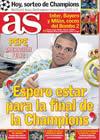 Portada diario AS del 18 de Diciembre de 2009