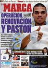 Portada diario Marca del 18 de Diciembre de 2009