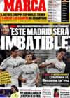 Portada diario Marca del 19 de Diciembre de 2009