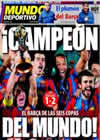 Portada Mundo Deportivo del 20 de Diciembre de 2009