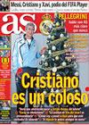 Portada diario AS del 21 de Diciembre de 2009