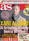 Portada diario AS del 23 de Diciembre de 2009