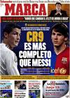 Portada diario Marca del 23 de Diciembre de 2009
