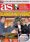 Portada diario AS del 24 de Diciembre de 2009