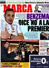 Portada diario Marca del 24 de Diciembre de 2009