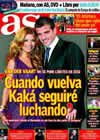 Portada diario AS del 26 de Diciembre de 2009