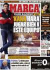 Portada diario Marca del 26 de Diciembre de 2009