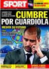 Portada diario Sport del 26 de Diciembre de 2009