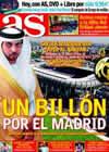 Portada diario AS del 27 de Diciembre de 2009