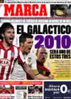 Portada diario Marca del 27 de Diciembre de 2009