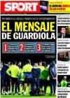 Portada diario Sport del 30 de Diciembre de 2009