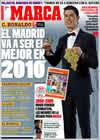 Portada diario Marca del 31 de Diciembre de 2009