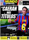 Portada Mundo Deportivo del 31 de Diciembre de 2009