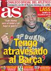Portada diario AS del 2 de Enero de 2010