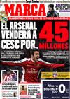 Portada diario Marca del 2 de Enero de 2010