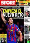Portada diario Sport del 2 de Enero de 2010
