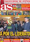 Portada diario AS del 3 de Enero de 2010