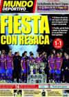 Portada Mundo Deportivo del 3 de Enero de 2010