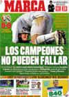 Portada diario Marca del 4 de Enero de 2010