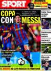 Portada diario Sport del 4 de Enero de 2010
