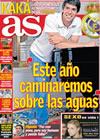 Portada diario AS del 5 de Enero de 2010