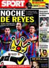 Portada diario Sport del 5 de Enero de 2010