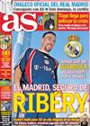 Portada diario AS del 8 de Enero de 2010